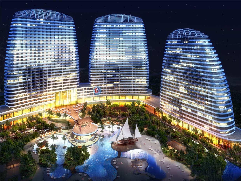 惠州双月湾檀悦豪生温泉度假酒店